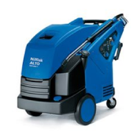 Hot water mobile pressure washers